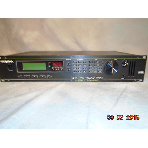 Digitech Gsp2101 Studio Tube Effect Processor