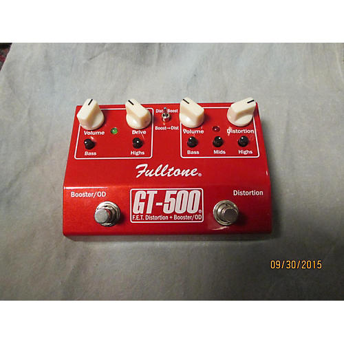 Fulltone Gt-500 Candy Apple Red Effect Pedal