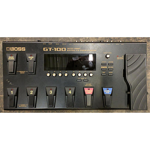 Boss Gt100 Effect Processor-thumbnail