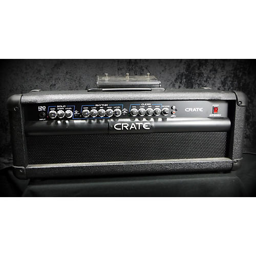 Crate Gt1200h 100 Watts 3 Channels Solid State Guitar Amp Head