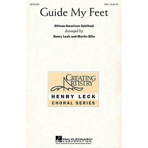 Hal Leonard Guide My Feet SATB arranged by Henry Leck