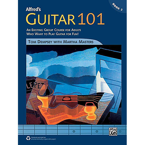 Alfred Guitar 101, Book 2 - Comb Bound Book-thumbnail