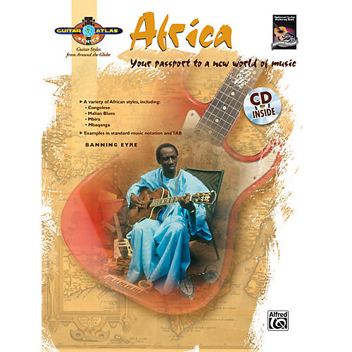 Alfred Guitar Atlas: Africa (Book/CD)-thumbnail