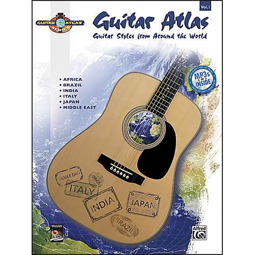 Alfred Guitar Atlas: Complete, Volume 1 (Book/CD)-thumbnail