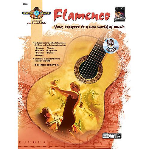 Alfred Guitar Atlas: Flamenco (Book/CD)-thumbnail