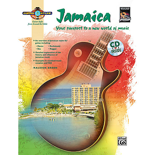 Alfred Guitar Atlas: Jamaica (Book/CD)-thumbnail