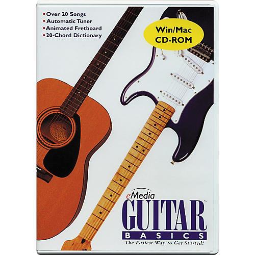 Emedia Guitar Basics CD-ROM