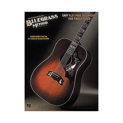 Hal Leonard Guitar Bluegrass Method Book-thumbnail