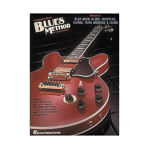 Hal Leonard Guitar Blues Method Book