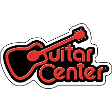 C&D Visionary Guitar Center Logo Sticker