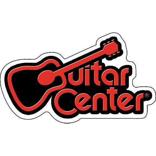 guitar center guitar center logo sticker guitar center