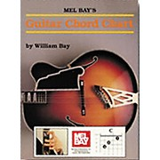 Mel Bay Guitar Chord Chart Book