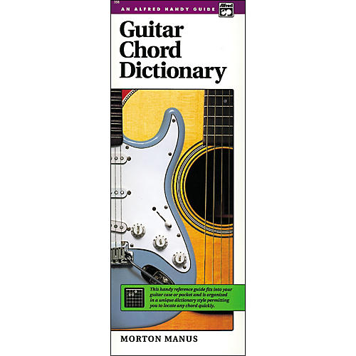 Alfred Guitar Chord Dictionary-thumbnail