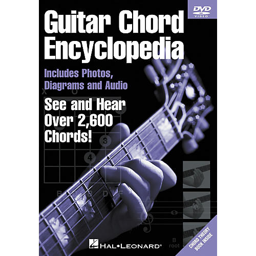 Hal Leonard Guitar Chord Encyclopedia (DVD)