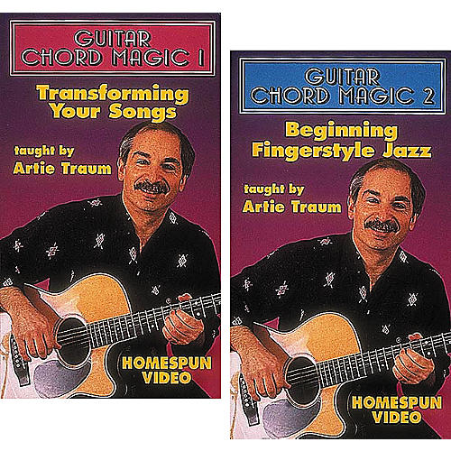 Homespun Guitar Chord Magic 2-Video Set (VHS)