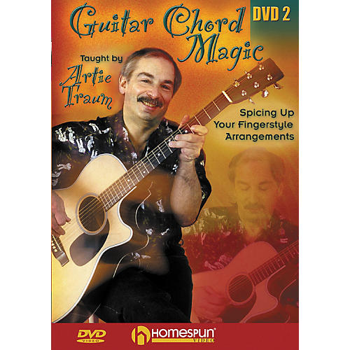Homespun Guitar Chord Magic: Fingerstyle 2 (DVD)-thumbnail