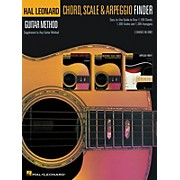 Hal Leonard Guitar Chord Scale & Arpeggio Finder