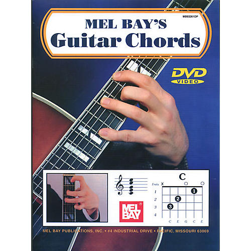 Mel Bay Guitar Chords Book u0026 CD : Guitar Center