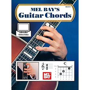 Mel Bay Guitar Chords Book and Online Audio