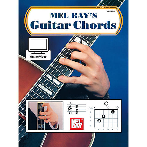 Mel Bay Guitar Chords Book & Online Audio