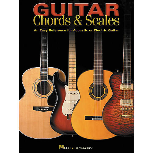 Hal Leonard Guitar Chords and Scales Book