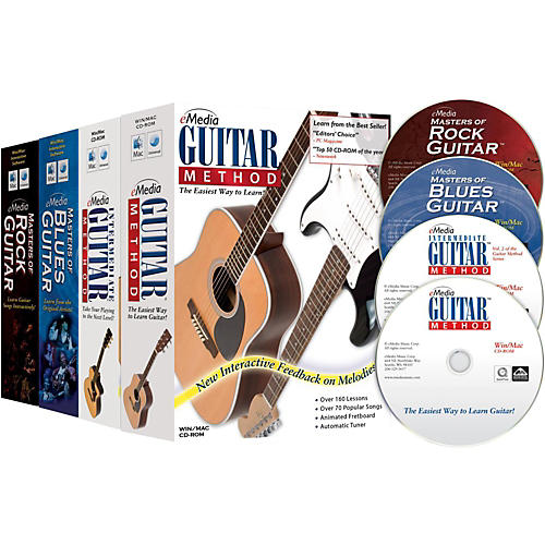 Emedia Guitar Collection (2014 Edition) - 4 Volume Set-thumbnail