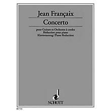 Schott Guitar Concerto 1982 (Guitar with Piano Reduction) Schott Series