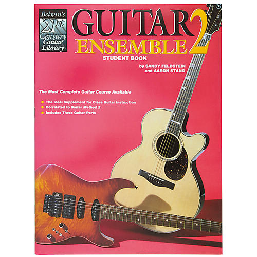 Alfred Guitar Ensemble Student Book Level 2