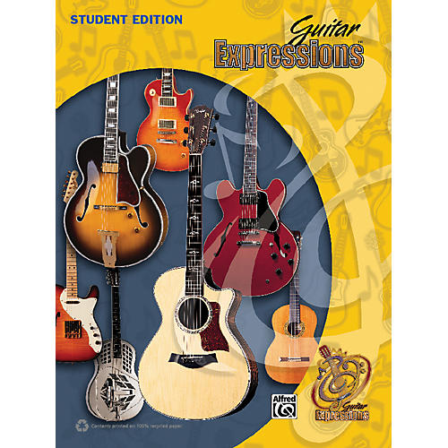 Alfred Guitar Expressions Student Edition (Revised) Book-thumbnail