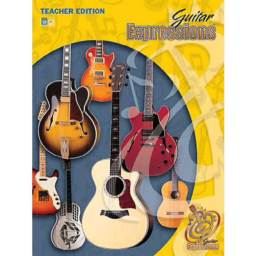 Alfred Guitar Expressions Teacher Edition Volume I Book CD & CD-ROM-thumbnail