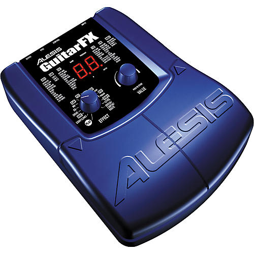 Alesis Guitar FX 24-Bit Multi-Effects Guitar Processor with 20 Foot Cable-thumbnail