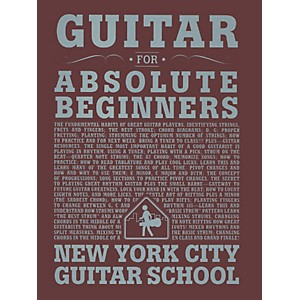 Carl Fischer Guitar For Absolute Beginners Book New York City Guitar Scho... by Carl Fischer