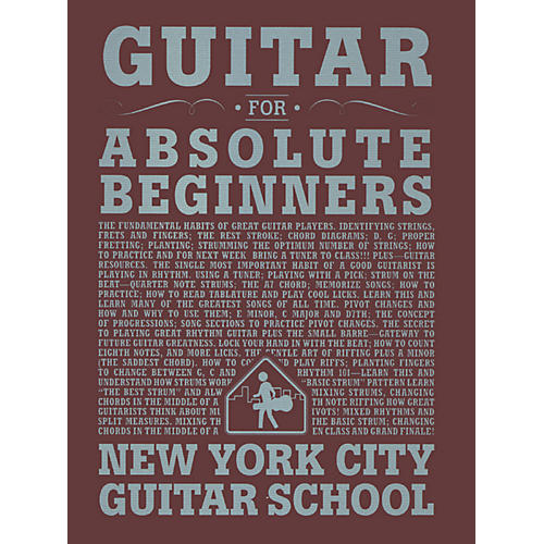 Carl Fischer Guitar For Absolute Beginners (Book) New York City Guitar School