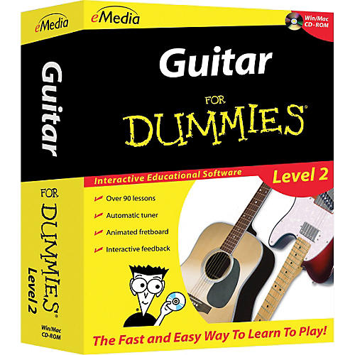 Emedia Guitar For Dummies Level 2 - CD-ROM