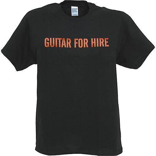 Musician's Gear Guitar For Hire T-Shirt