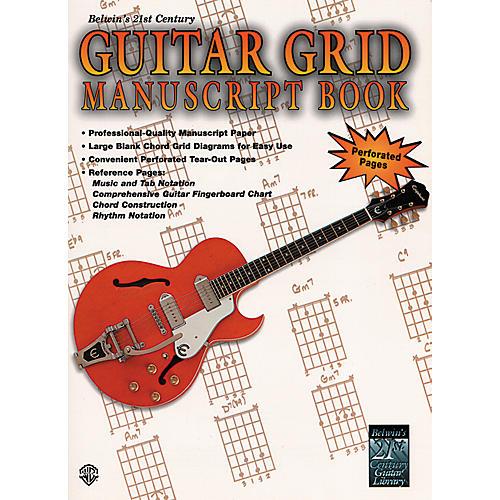 Alfred Guitar Grid Manuscript Book