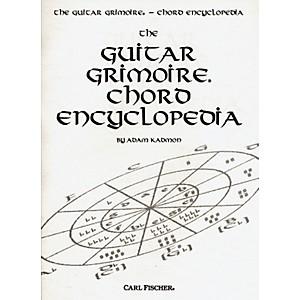 Carl Fischer Guitar Grimoire Chord Encyclopedia Book by Carl Fischer