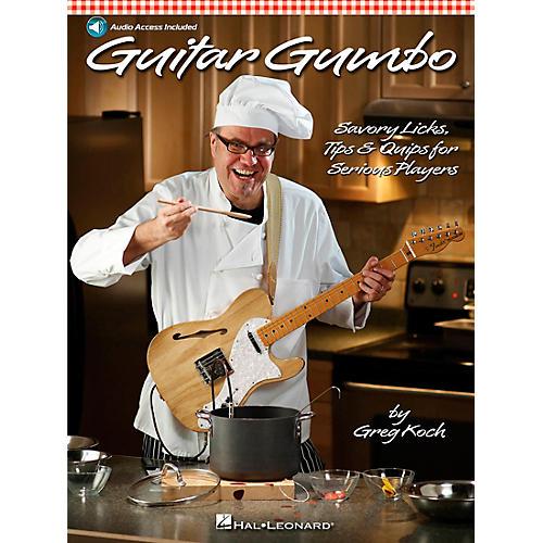 Hal Leonard Guitar Gumbo - Savory Licks, Tips & Quips For Serious Players Book/CD-thumbnail