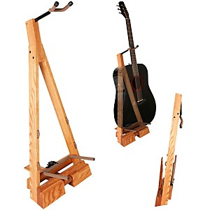 String Swing Guitar Hardwood Floor Stand by String Swing