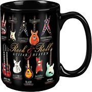 Taboo Guitar Heaven Black Mug 15 oz
