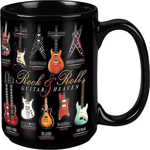 Taboo Guitar Heaven Black Mug 15 oz
