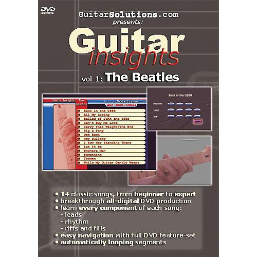 Guitar Solutions Guitar Insights Volume 1: The Beatles (DVD)-thumbnail