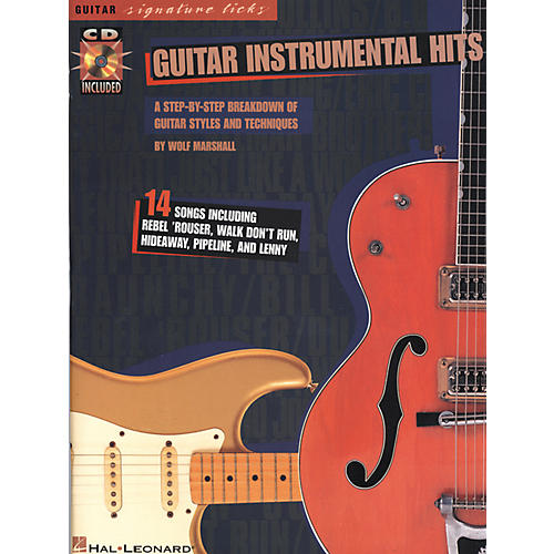 Hal Leonard Guitar Instrumental Hits Book/CD