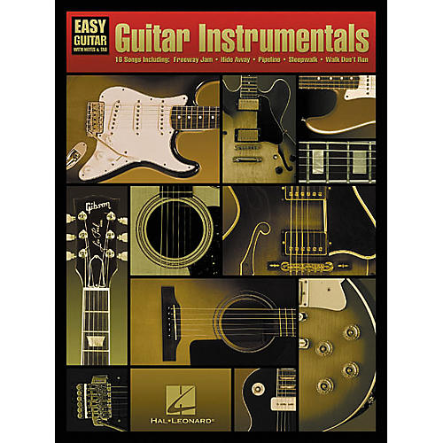 Hal Leonard Guitar Instrumentals For Easy Guitar Book-thumbnail