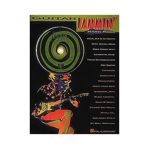 Hal Leonard Guitar Jammin' With Hard Rock Songs (Book/CD)