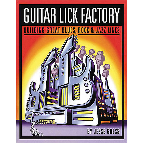 Backbeat Books Guitar Lick Factory Book