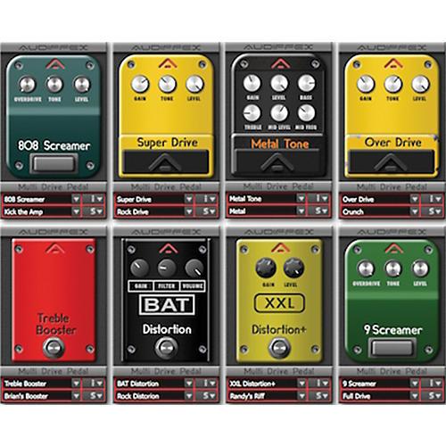 Audiffex Guitar Line Multi Drive Software Download