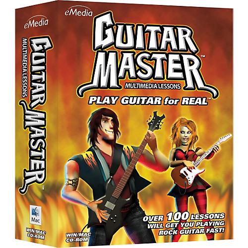 eMedia Guitar Master Instructional CD-Rom