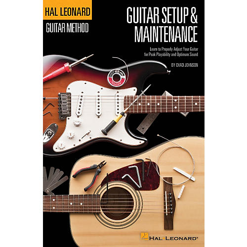 Hal Leonard Guitar Method - Guitar Setup & Maintenance in Full Color-thumbnail