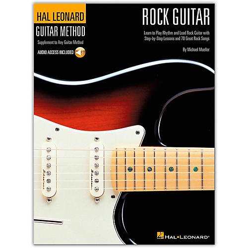 Hal Leonard Guitar Method - Rock Guitar Book/CD